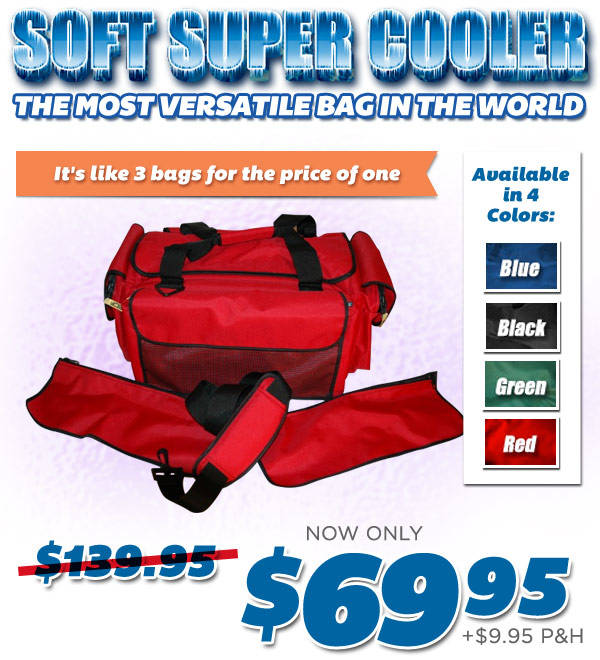 Order Soft Super Cooler™ Now